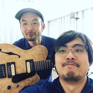 中川弦楽器製作所の中川君が遊びに来てくれました